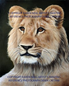Christian the Lion by Karen Neal